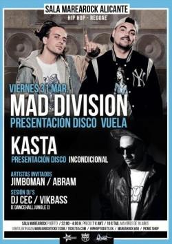 """Mad division presenta """"Vuela"""" en Alicante"""
