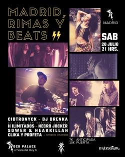 Madrid, Rimas y beats en Madrid