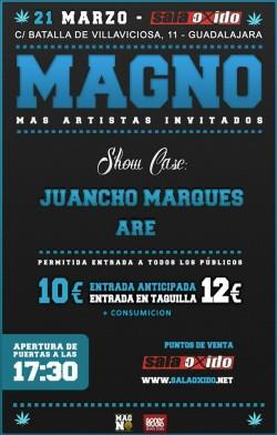 Magno, Juancho Marqués y Are en Guadalajara