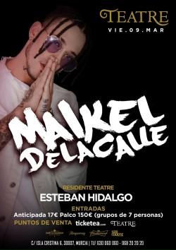 Maikel de la Calle en Murcia