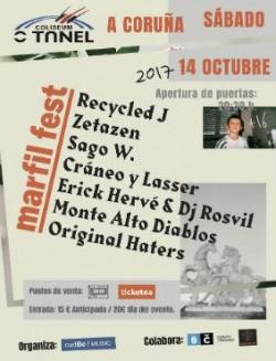 Marfil Fest 2017 en A Coruña