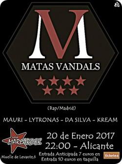 Matas vandals en Alicante