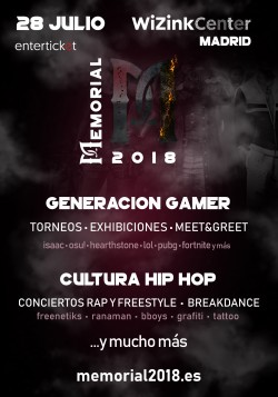 Memorial 2018 en Madrid