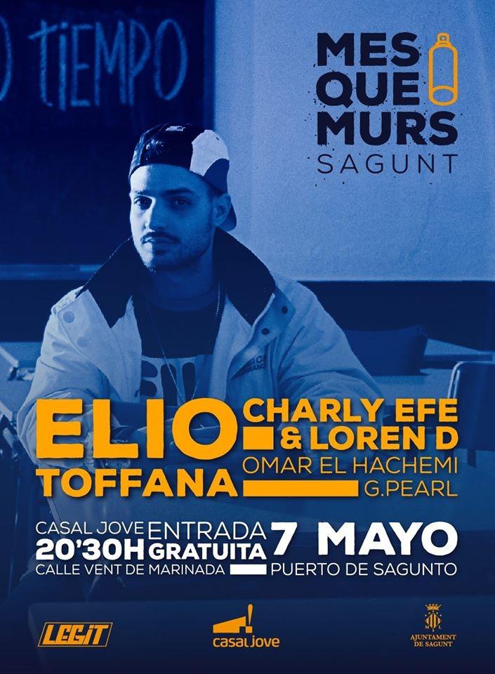 Mes que murs en puerto de sagunto concierto hip hop groups - Casal jove puerto sagunto ...