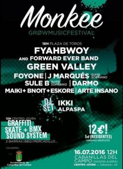 Monkee Grow Music Fest en Cabanillas Del Campo