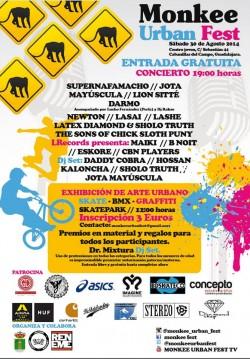 Monkee Urban Fest en Cabanillas Del Campo