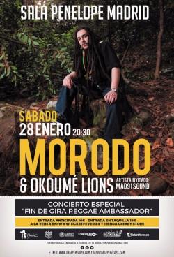 Morodo - Fin de gira en Madrid