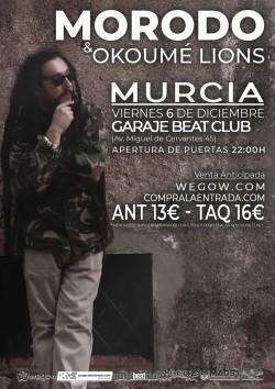 Morodo & Okoumé Lions presentando nuevo disco en Murcia