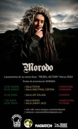 Morodo presenta 'Rebel-Action' en Vitoria