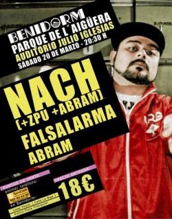 Nach, Falsalarma y otros en concierto en Benidorm (Alicante)