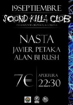 Nasta, Javierpetaka y Alan Bi Rush en A Coruña