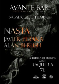 Nasta, Javierpetaka y Alan Bi Rush en Santiago De Compostela