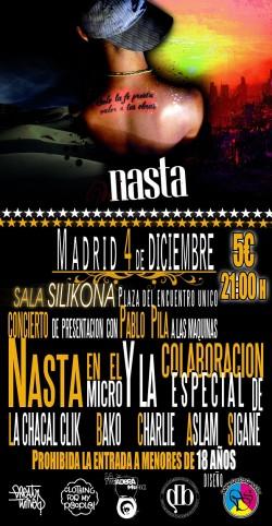 Nasta en Madrid
