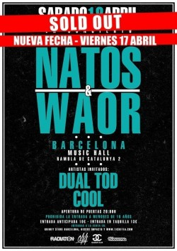 Natos & Waor (2. Fecha) en Barcelona