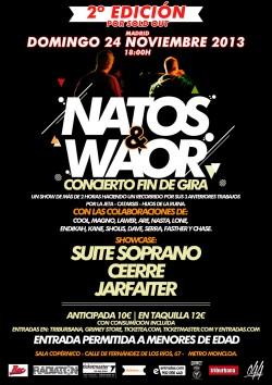 Natos & Waor concierto fin de gira 2ºEdición en Madrid
