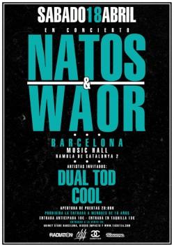 "Natos & Waor presentan ""Caja negra"" en Barcelona"
