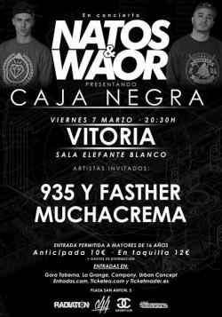 "Natos & Waor presentan ""Caja negra"" en Vitoria"
