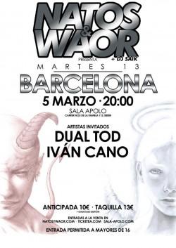 """Natos y Waor presentan """"Martes 13"""" en Barcelona"""