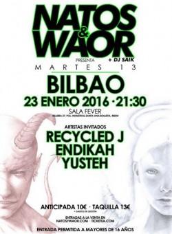 """Natos y Waor presentan """"Martes 13"""" en Bilbao"""