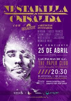 Nestakilla presenta Crisálida en Las Palmas de Gran Canaria