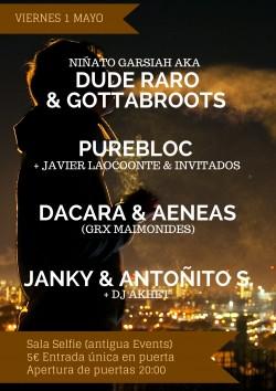 Niñato Garsiah, Gottabroots, Purebloc, Eseneka y más en Sevilla