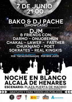 Noche en blanco en Alcalá De Henares