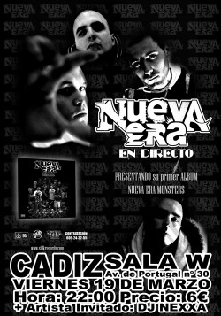 Nueva Era Gira Monsters en Cádiz