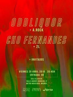 Oddliquor y Cho fernandes en Madrid