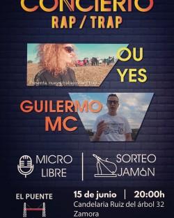 Ou Yes y Guiller MC en Zamora