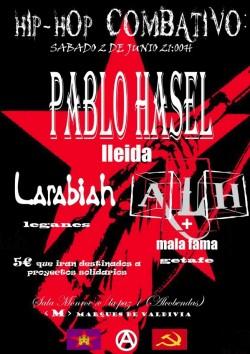 Pablo Hasel en Alcobendas