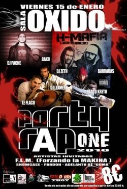 Party Rap One 2010 en Guadalajara