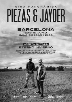 Piezas & Jayder - Gira Panorámica en Barcelona