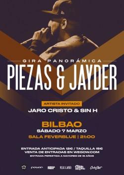 Piezas & Jayder - Gira Panorámica en Bilbao