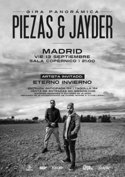Piezas & Jayder - Gira Panorámica en Madrid