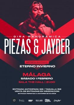 Piezas & Jayder - Gira Panorámica en Málaga