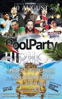 Poolparty Hip Hop en Sevilla
