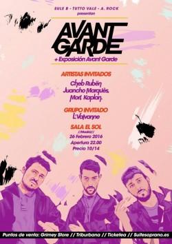 Presentación de Avant Garde en Madrid