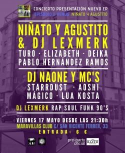 Presentación nuevo EP de Niñato y Agustito en Madrid