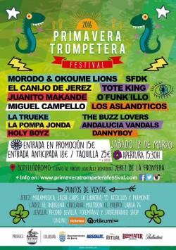 Primavera Trompetera Festival 2016 en Jerez De La Frontera