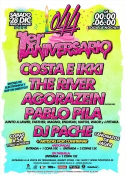 Primer Aniversario 044 en Madrid