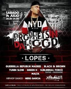 Prophets in da hood 3 en Madrid