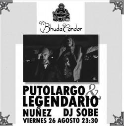 PutoLargo, Legendario, Núñez y Dj Sobe en Rota