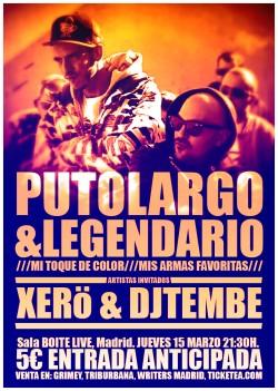 PutoLargo y Legendario en Madrid