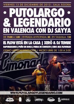 """PutoLargo y Legendario presentan """"Limonada"""" en Valencia"""