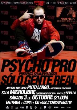 PyschoPro presenta 'Solo gente real' en Sevilla