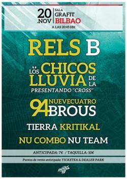 Raining Tour en Bilbao