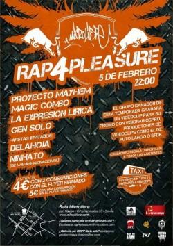 Rap 4 Pleasure en Sevilla