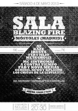 Rap Jam Blazing Fire en Móstoles