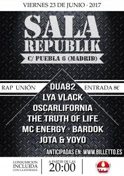 Rap Unión en Madrid