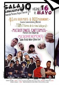 Rap en Sala JO! en Murcia